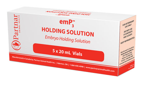 emP3 Holding Solution 5 x 20ml COLD