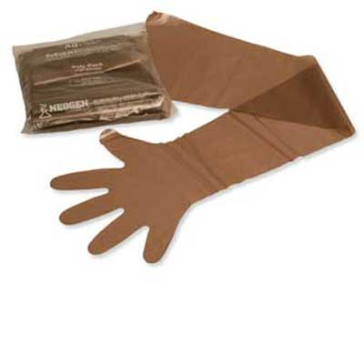 Maxi Sleeve Brown Sterile 12/pk 12/cs