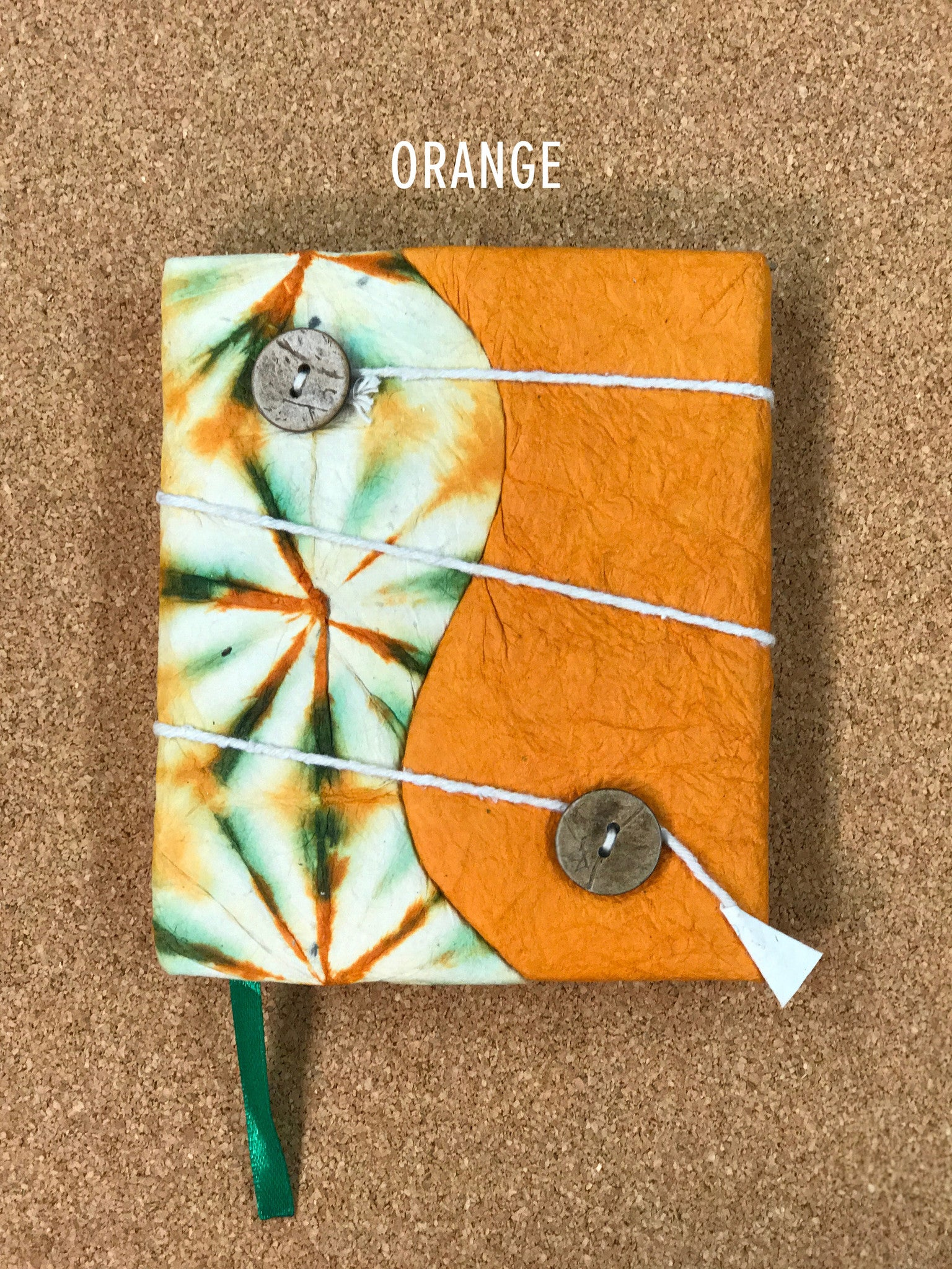 Handmade Tie-dye Journal