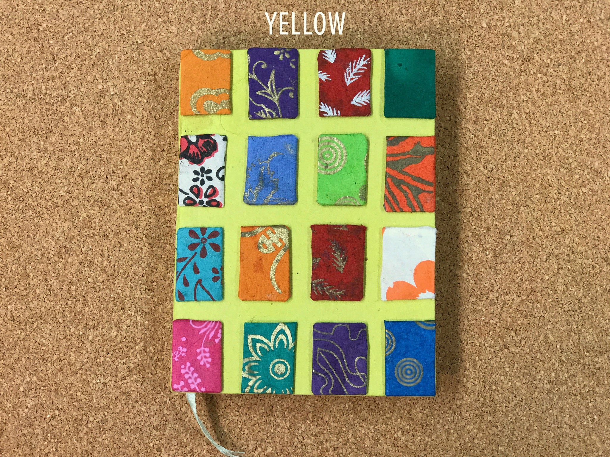 Handmade Multicolored Journal