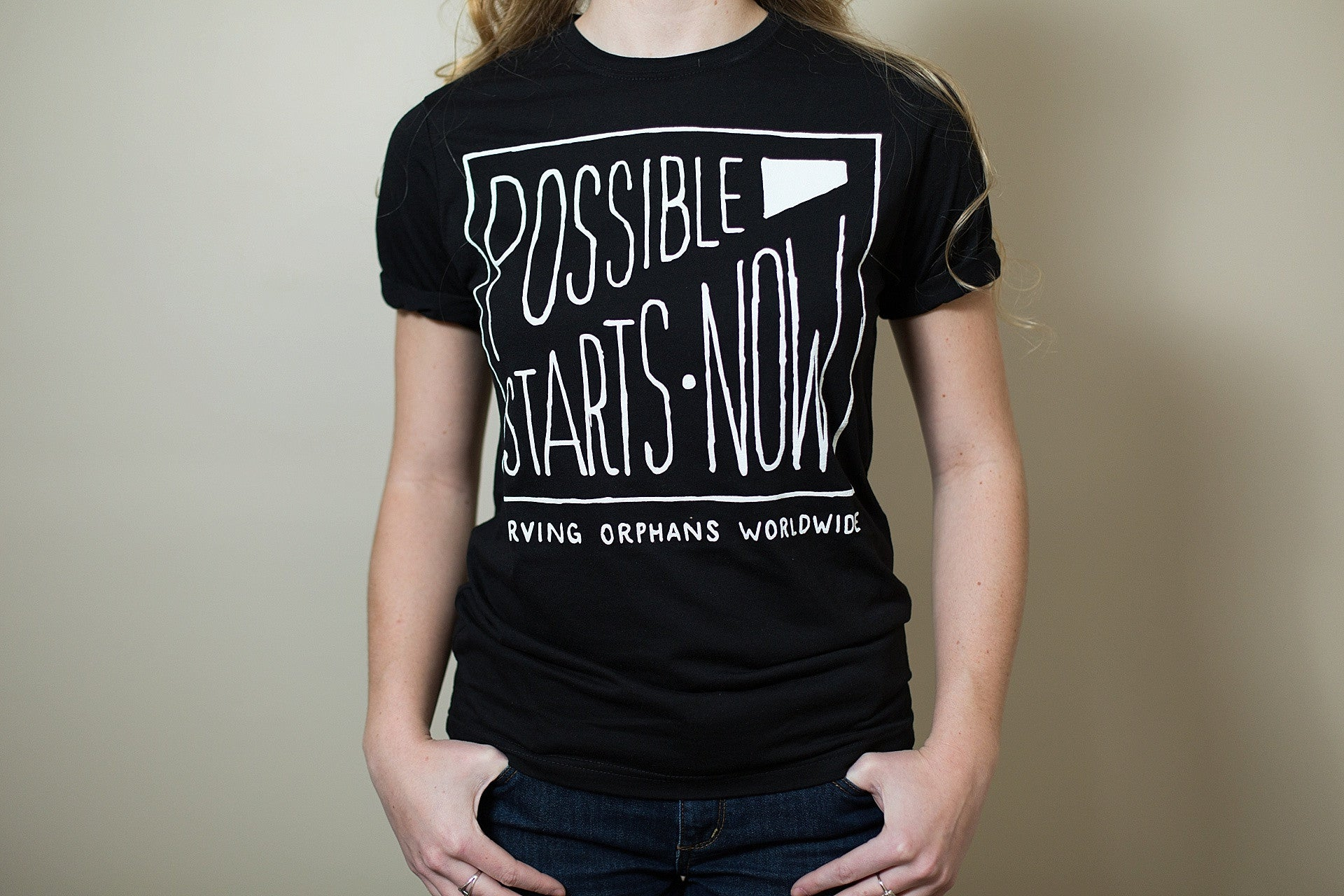 Possible Starts Now Tee