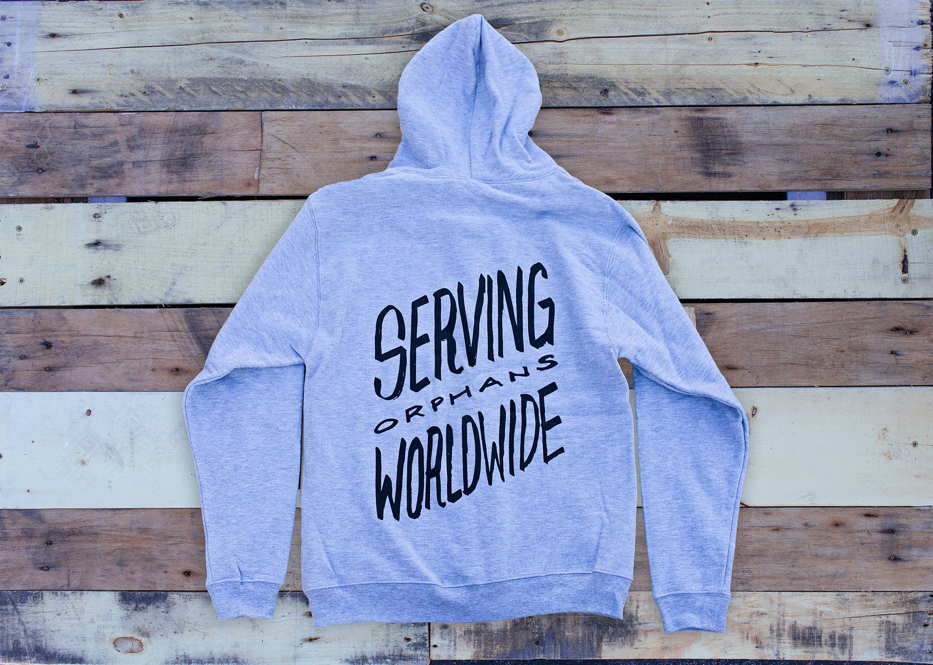 Serving Orphans Zip-up Hoodie