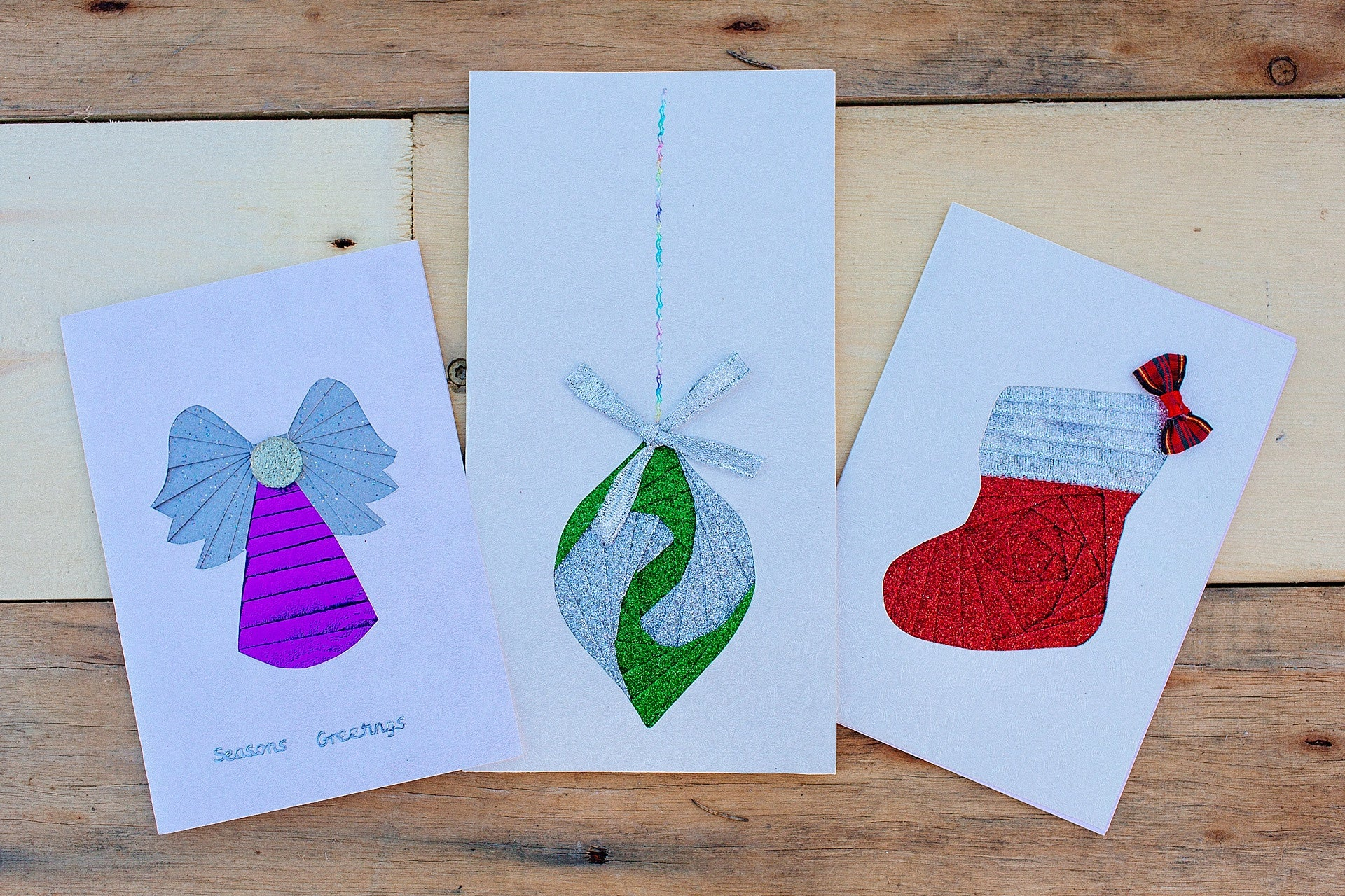 Handmade Bethsaida Christmas Cards (Pack of 5)