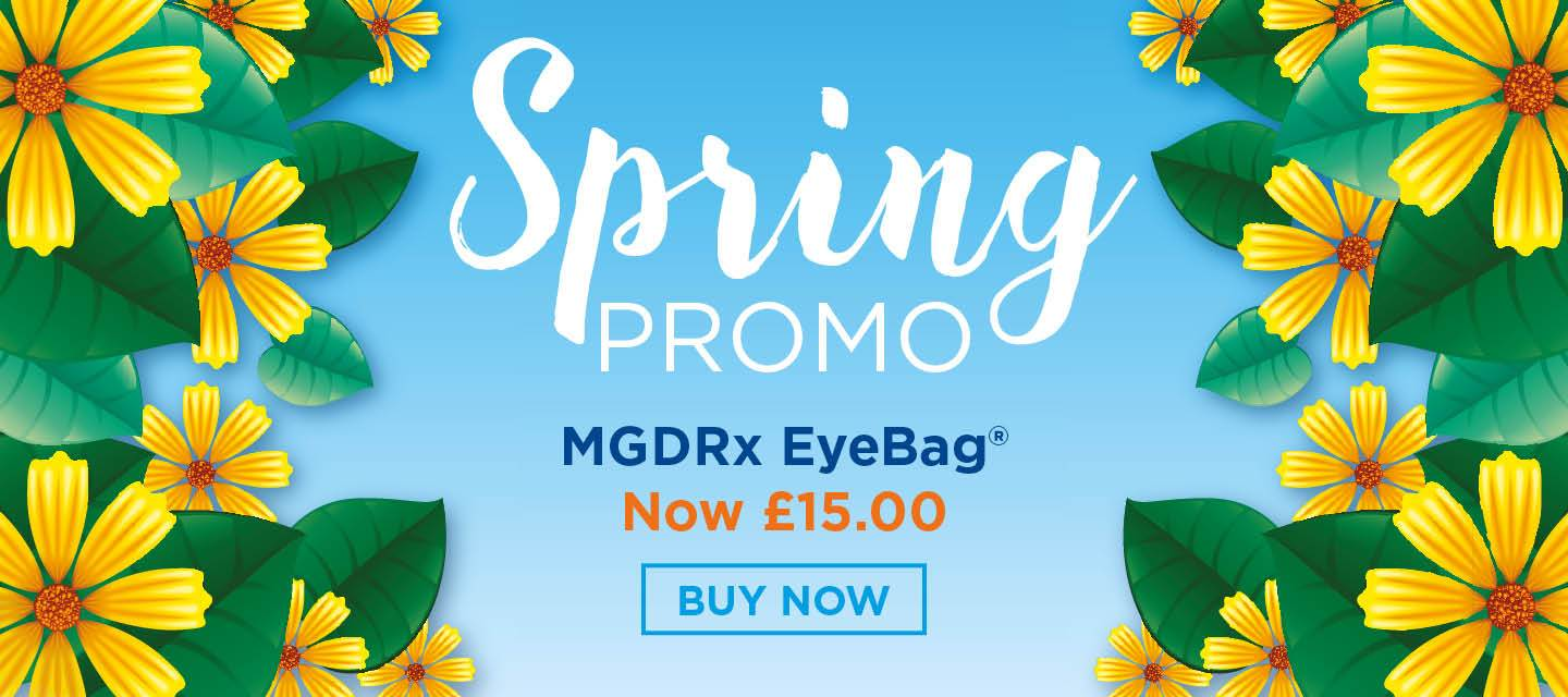 Dry Eye Syndrome is the most commonly diagnosed ophthalmic condition. Effective eyelid warming is the first line treatment of choice. The MGDRx EyeBag® is specifically designed to be comfortable and easy to use and to give optimum heat to the eyelids. The EyeBag® has been purchased by over half a...