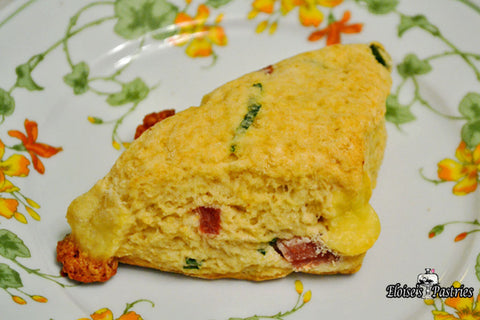 Hearty Ham and Cheese Scones