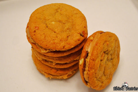 Outrageously Good Peanut Butter Sandwich Cookies