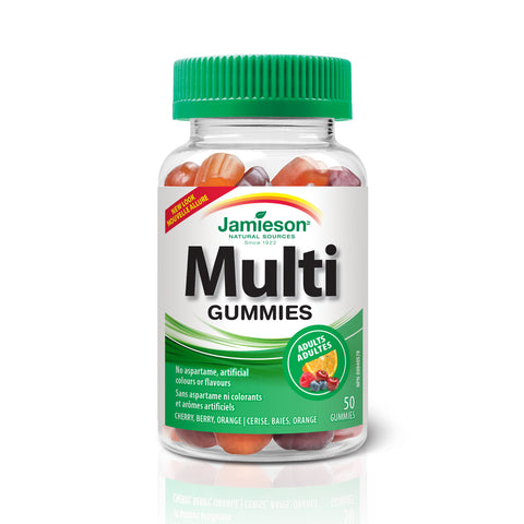 Multi Gummies pour adultes