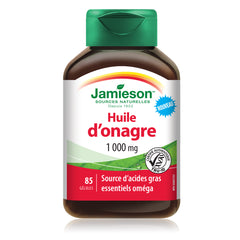 Huile d'onagre 1 000 mg