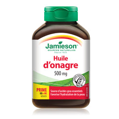 Huile d'onagre 500 mg