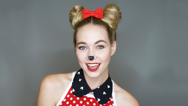 Halloween Hair How To: Mouse Buns