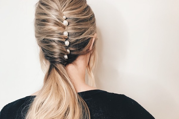 How-To: 5-Step Holiday French Twist Ponytail