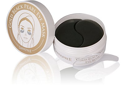 Peach & Lily Gold Black Pearl Hydrogel Eye Mask