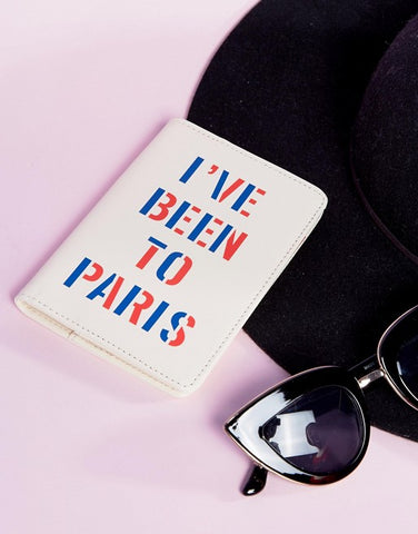 Ban.Do I've Been to Paris Passport Holder