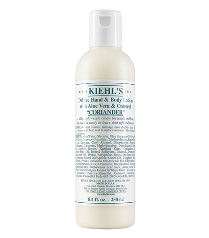 Kiehl's Deluxe Hand & Body Lotion with Aloe Vera & Oatmeal