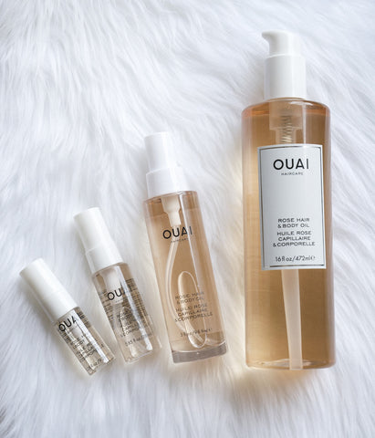 OUAI Haircare Rose Hair & Body Oil