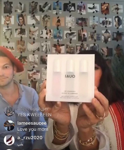 OUAI Instagram Live OUAI Fragrance Set Jen Atkin