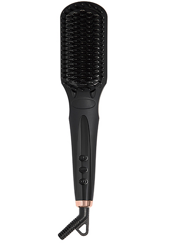 Amika Polished Perfect Straightening Brush OUAI heat tools that cut styling time in half