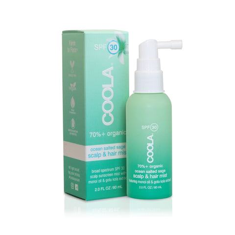 coola organic scalp and hair mist SPF 30 ouai multitasking beauty products