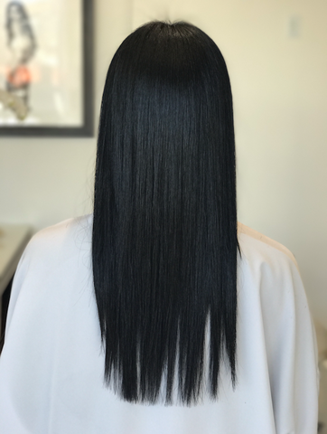 keratin treatment Nicolas Flores smoothing treatment frizzy hair