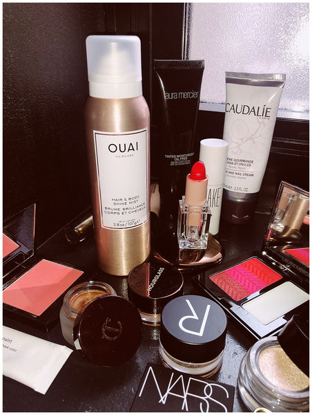 madison chertow NYFW diary OUAI Hair & Body Shine Mist