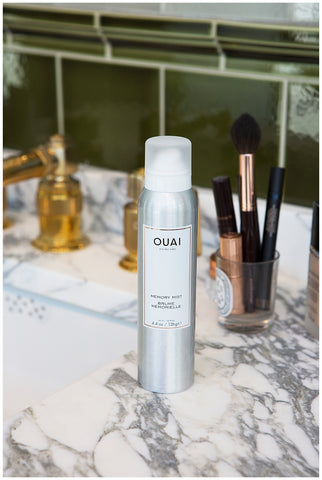 multitasking beauty products memory mist heat protectant ouai