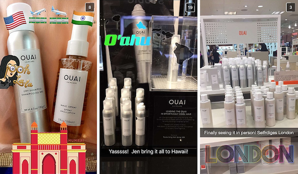 OUAI Sephora Kuwai Oahu London