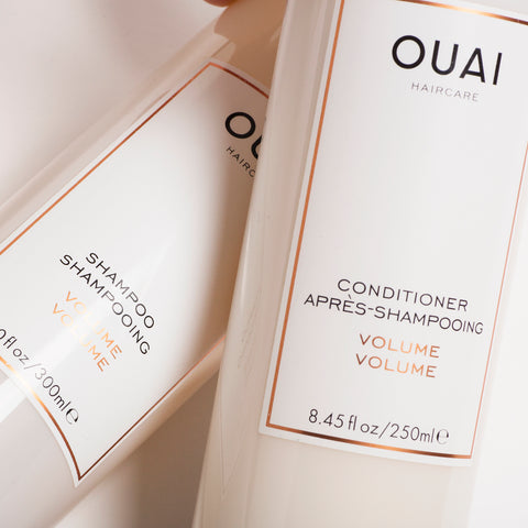 OUAI Volume Shampoo and Conditioner