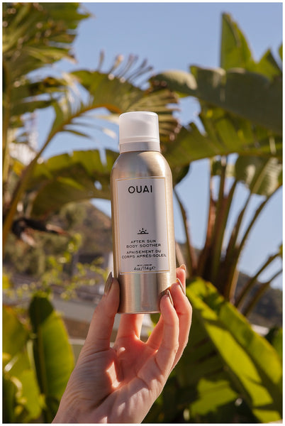 ouai after sun body soother aloe infused dry skin savior.