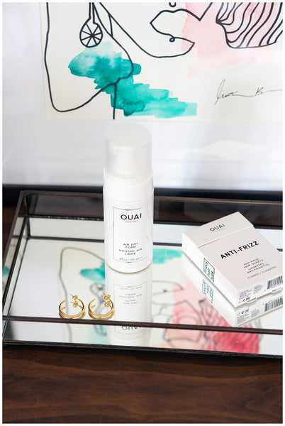 air dry tips wash and wear hair OUAI