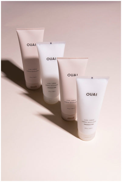 ouai curl creme curl styling cream for curly hair frizzy hair