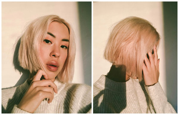 ouai dry hair supplements jessica cheng the style cat blunt bob