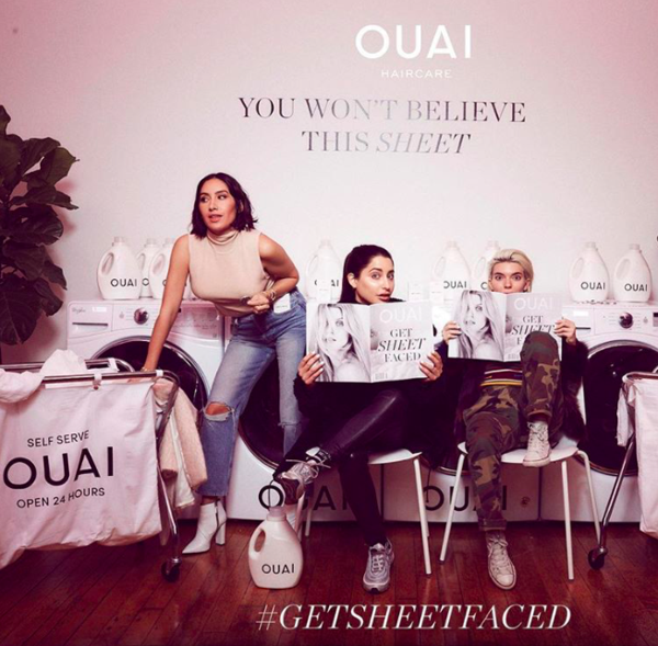 OUAI Turns 3 OUAI Birthday Jen Atkin Founder Anti Frizz Sheets