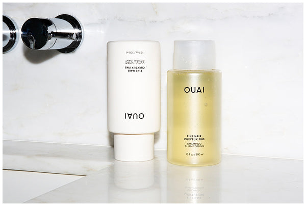 ouai fine shampoo conditioner best hair products for fine hair