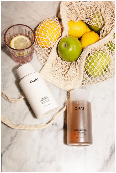ouai detox shampoo reset button for scalp hair