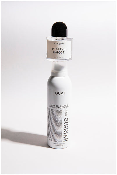 ouai haircare super dry mojave ghost byredo limited edition super dry shampoo jen atkin ben gorham