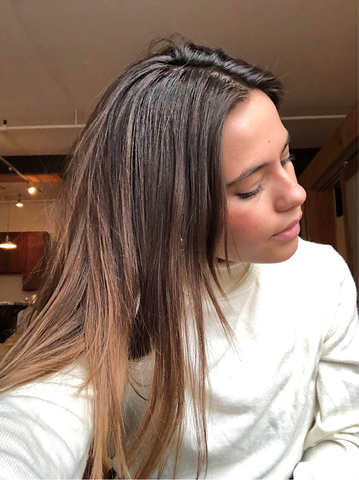 ouai oily hair supplement before and after Sami weaver