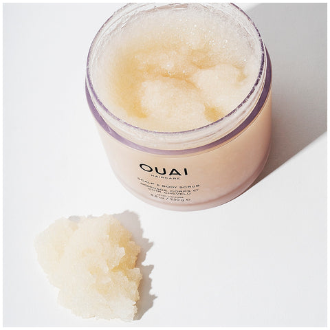 ouai scalp and body scrub body exfoliator scalp exfoliatior