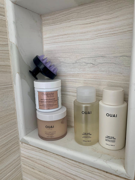 ouai digital detox tips scalp detox fine hair shampoo detox shampoo