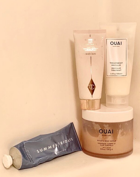 ouai team detox tips wellness detox digital detox scalp detox ouai treatment masque summer fridays jet lag mask