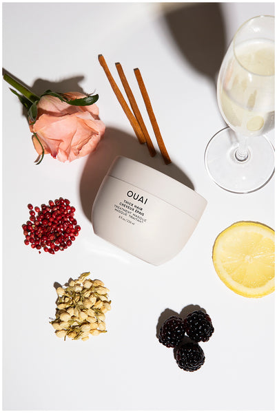 ouai thick hair treatment mask for dry damaged hair melrose place fragrance