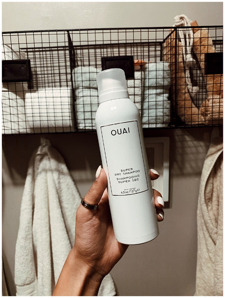 overnight braids beach waves for straight hair OUAI super dry shampoo wave spray genessis meza 3