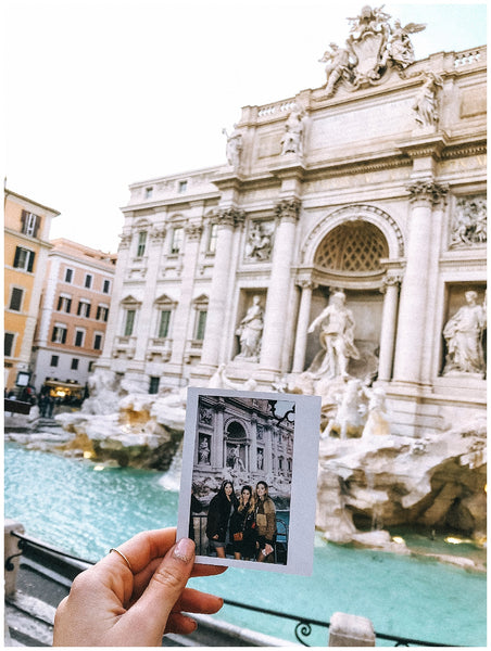 Linoya Friedman Rome Italy Travel Guide Trevi Fountain OUAI Haircare