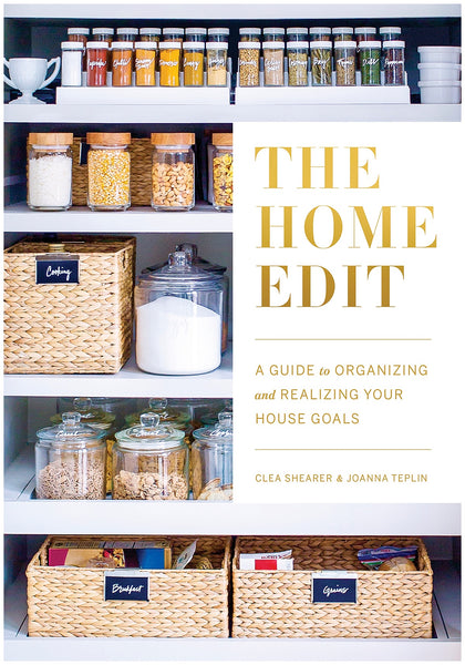 The Home Edit Book organizing tips bathroom beauty cabinet makeup storage OUAI