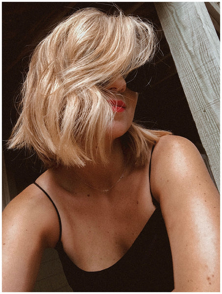 blunt bob waves Travel Guide Outer Banks North Carolina OUAI Haircare