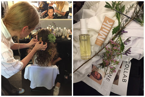 Vogue CFDA Fashion Fund Show OUAI Haircare Gregory Russell