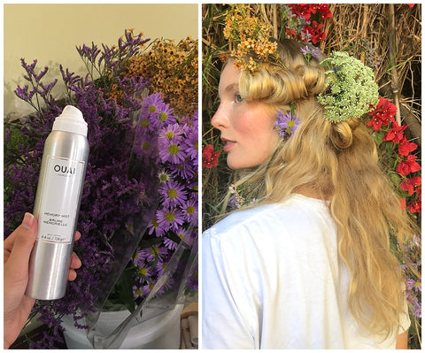 Vogue CFDA Fashion Fund Show OUAI Haircare Memory Mist