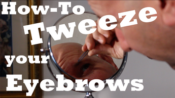 Men's Eyebrows, How to Tweeze Eyebrows