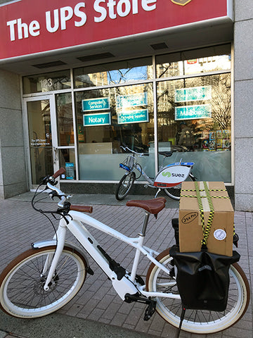 cargo ebike delivery