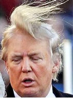 Donald Trump comb over