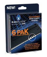 BAKblade 2.0 Replacement Blades 6 Pack